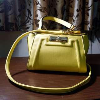 Aldo yellow sling bag