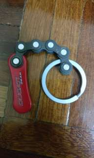 Ducati official gear keychain