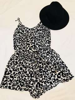H&M Animal Print Romper