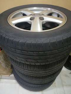 Honda 16inch michelin continental
