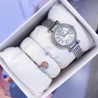 代購美國卡斯麗 CRISELLA 腕錶手鏈手觸套裝