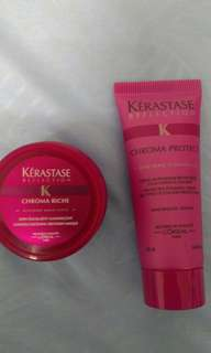 Kerastase mask, conditioner