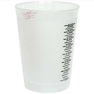 ETIC (EnviroTex Lite) Multi Purpose Measure Clear Cup 8 oz