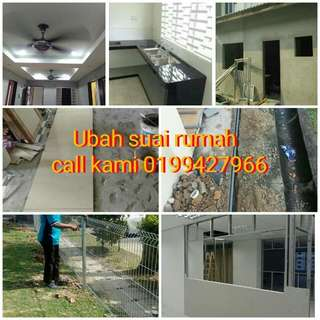 Renovation dan plumbing services