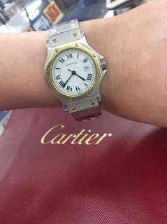 Authentic cartier watch