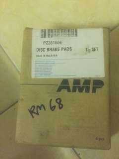 Rear brake pad V6/Perdana