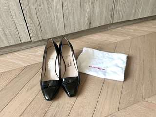 Salvatore Ferragamo Classic Bow High Heel Shoes 高踭鞋