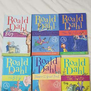 Roald Dahl Children's story books