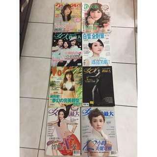 Fashion and Beauty Magazines (RM6 each)