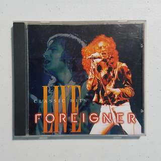 Foreigner: Classic Hits Live (1993) Original Audio CD (Vintage)