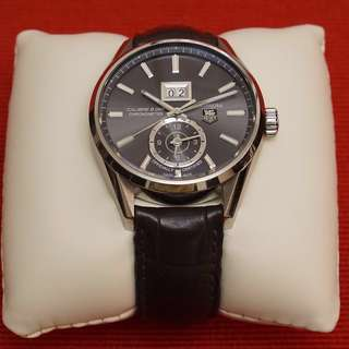 Tag Heuer Carrera Calibre 8 GMT Chronometer w/ box and papers