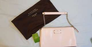 Kate Spade Wellesley Byrd Leather Clutch