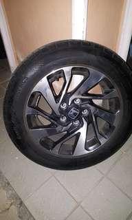 Honda Civic FC 1.8 OEM 16 inch c/w tyre