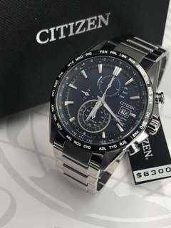 代購 CITIZEN 光動能電波男裝腕錶