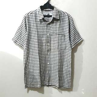 Nail Brown Checked Shirt