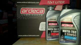 Ardeca moto-tec motorcycle engine oil