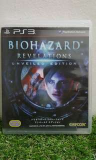 BIOHAZARD REVELATIONS UNVEILED EDITION PS3 GAME
