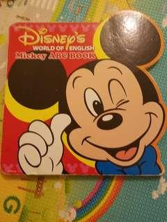 美語世界 Mickey ABC Book