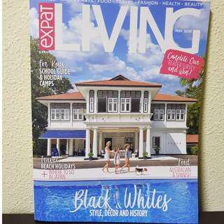🚚 Expat Living Magazine May 2018 BRAND NEW