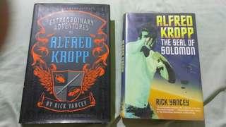 Alfred Kropp (#1 & #2) by Rick Yancey