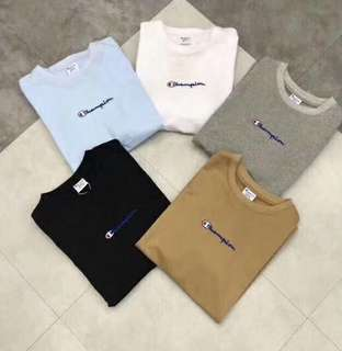Champion new logo tee in 5 colors