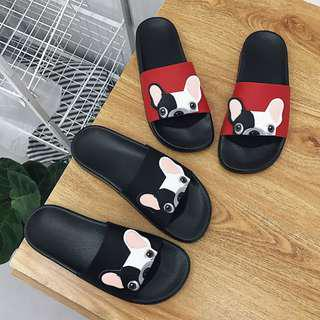Cute Dog Cartoon Slippers