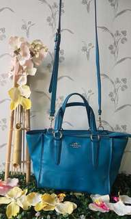 COACH tote with sling
