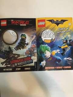 Batman, Lego Ninjago books activity books