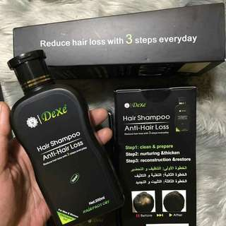 Dexe hair shampoo anti-hair loss