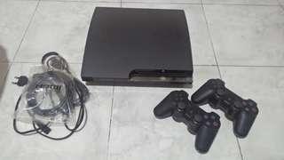 PS3 Slim CFW 500GB Like New Jarang Pake