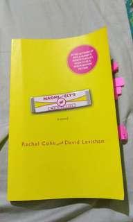 Naomi and Ely's No Kiss List by Rachel Cohn & David Levithan