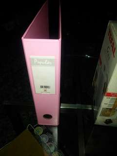 Free Ring Files (pink colour popular brand)