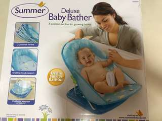 Summer Deluxe Baby Bather Portable