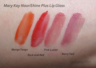 Mary Kay NouriShine Plus Lip Gloss in Rock n Red