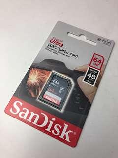 🚚 SanDisk 64G SD Card(UHS-I,C10)