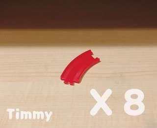 Yujin T-Art 扭蛋火車 扭蛋車 鐵路 鐵道模型 紅色路軌 X8