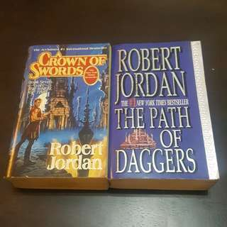 Robert Jordan Books Bundle (2 pcs)