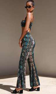 I AM GIA Delilah Snakeskin Set
