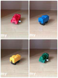 Yujin T-Art 扭蛋火車 扭蛋車 鐵路 鐵道模型 彩色火車 B