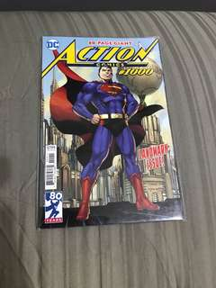 Dc comics action comics #1000