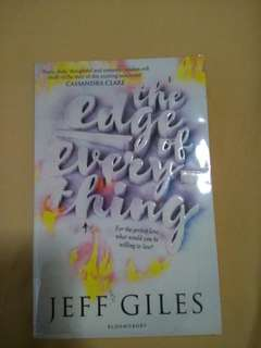 The Edge of Everything -Jeff Giles