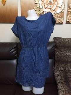 big size dinem dress