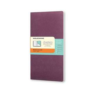 Moleskine Chapters Notebook Plum