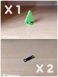 Yujin T-Art 扭蛋火車 扭蛋車 鐵路 鐵道模型 彩色火車 樹木 X1 車勾 X2