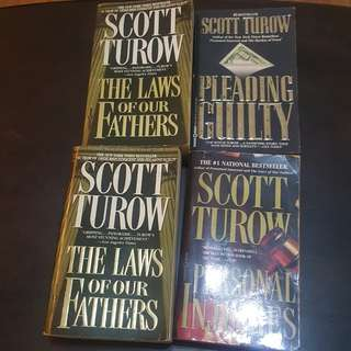 Scott Turow Books Bundle (4 pcs)