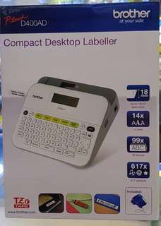 Brother P-touch D400, Compact Labeler