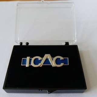 ICAC紀念襟章