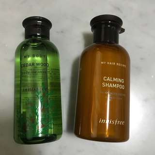 Innisfree Shower Gel / Shampoo
