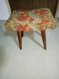 Vintage Pencil Leg Dressing Chair