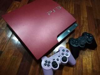 Ps3 Slim 320gb (Red) with 5 game